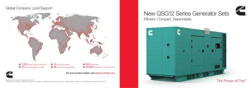 New QSG12 Series Generator Sets