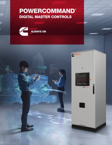 POWERCOMMAND® DIGITAL MASTER CONTROLS