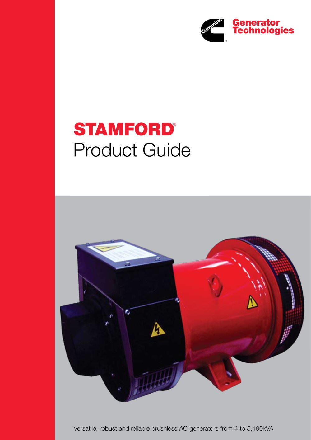 Stamford Product Guide Cummins Generator Technologies Pdf Transfer Switch Wiring Diagram Further Remote 1 16 Pages