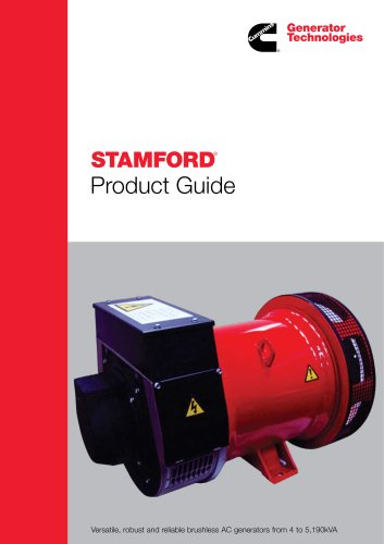 STAMFORD PRODUCT GUIDE - MINS GENERATOR TECHNOLOGIES - PDF ... on