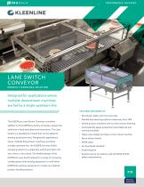 Lane Switch Conveyor