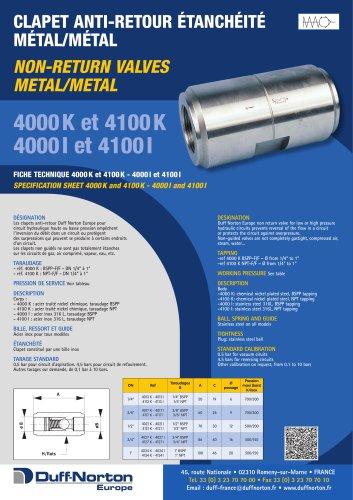 4000 & 4100 Series