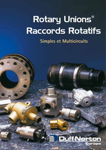 General catalog Rotary Unions®