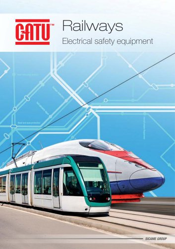 CATU RAILWAYS Electrical safety equipment