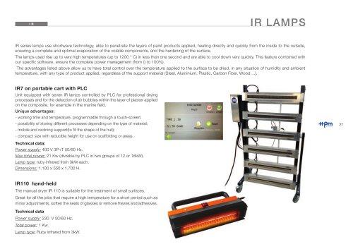 Lamps IR