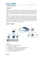 WLINK Industrial Modem in Tap Water Pipeline Monitoring Application