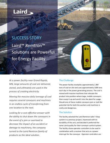 Power Plant Remtron Success Story