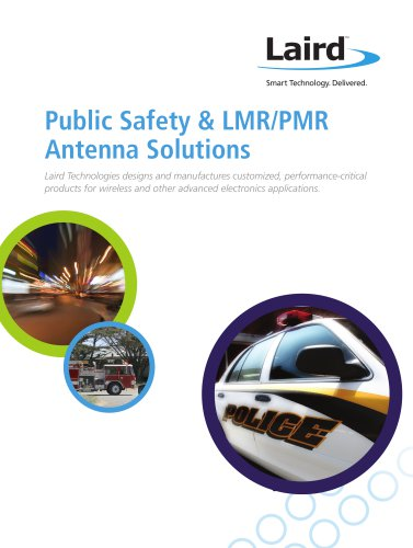 Public Safety & LMR/PMR Antenna Solutions
