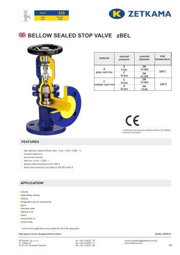 Bellow valve zBEL Fig.235
