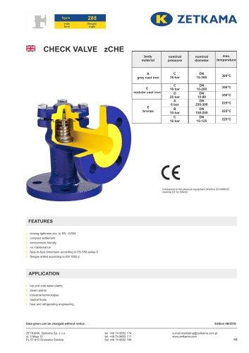 Check valve zCHE Fig.288