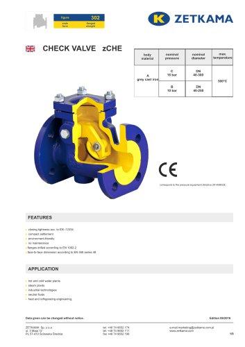 Check valve zCHE Fig.302