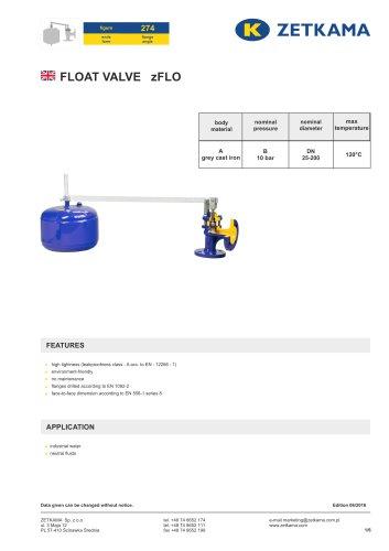 Float valve zFLO Fig.274