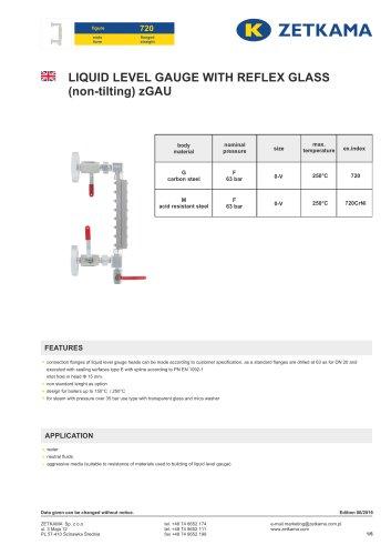 Liquid level gauges zGAU Fig.720