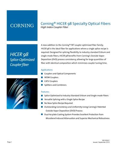 HICER 98 Splice-Optimized Coupler Fiber