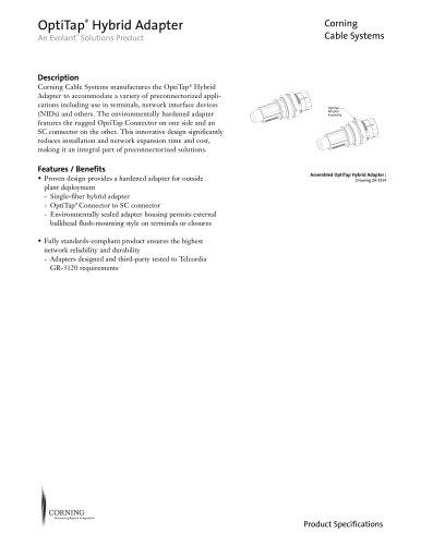 OptiTap® Hybrid Adapter