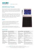 Solar Panels for all Adcon RTUs