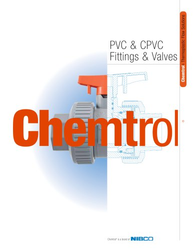 Chemtrol® PVC & CPVC Fittings & Valves Catalog