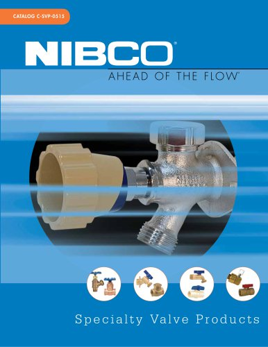 Specialty Valve Products Catalog