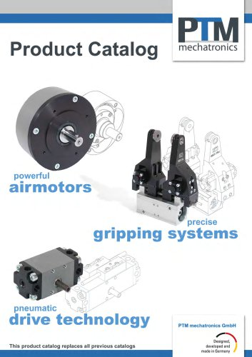 Catalog grippers and drive technology