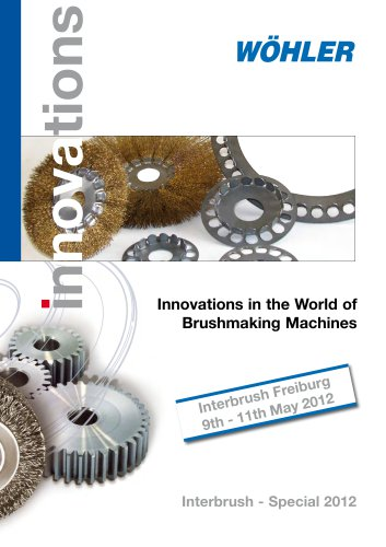Innovations in the World of  Brushmaking Machines
