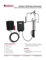 New SenSpot™ Wireless 3D Anemometer