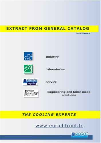 General catalog EURODIFROID