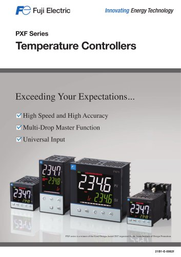Digital temperature controller PXF series