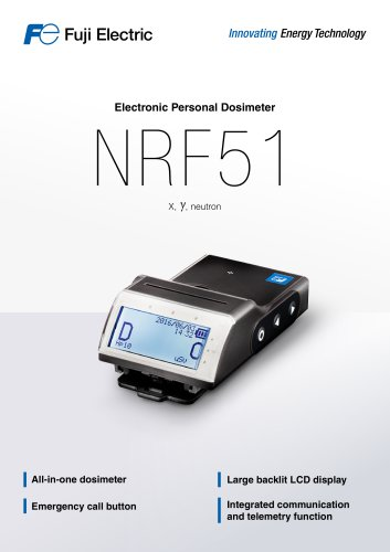 Electronic Personal Dosimeter NFR51