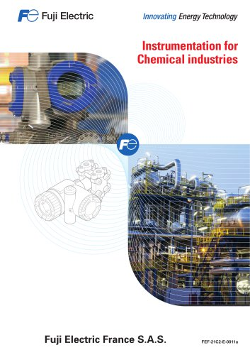 Instrumentation for chemical industries