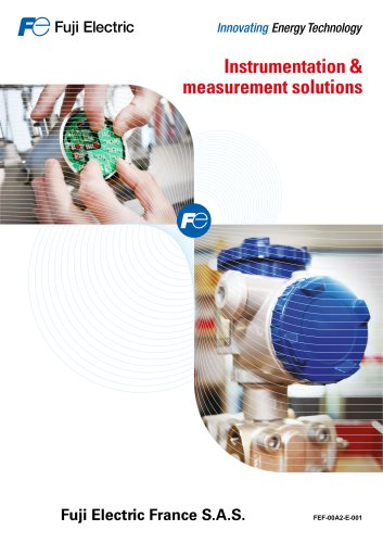 Instrumentation and measurement solutions