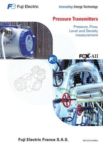 Pressure flow level and density transmitters