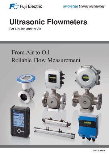 Ultrasonic flowmeters for liquids and air