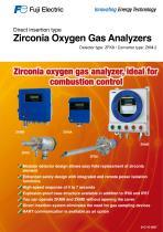 ZKM Oxygen Gas Analyzers