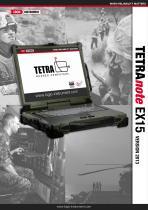 TETRAnote EX15 - ultra rugged Notebook
