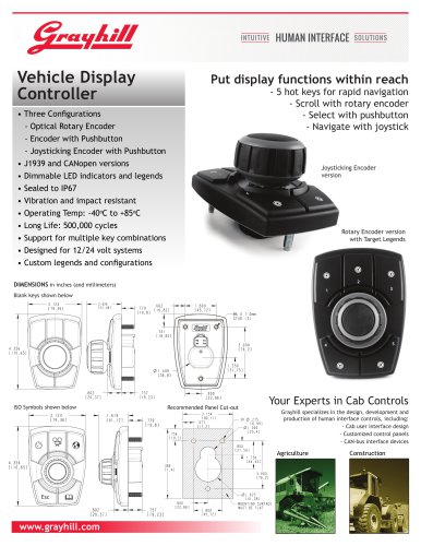 Vehicle Display Controller