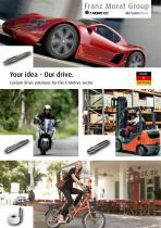 Drive Solutions for the E-mobility sector - 2