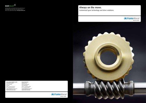 Framo Morat Image Brochure