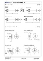 Linear actuator Mini technical documentation - 11