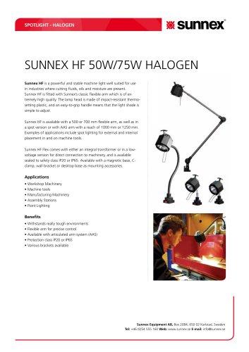 Machine light SUNNEX HF