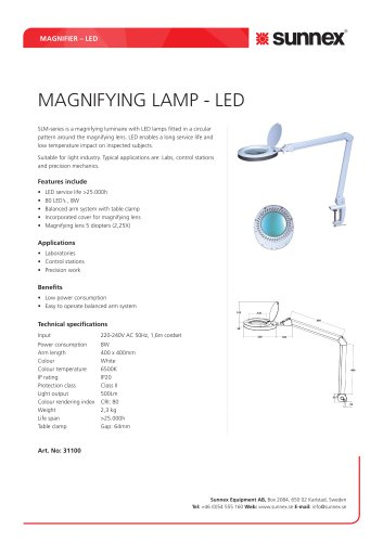 MAGNIFYING LAMP - LED