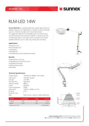RLM-LED 14W