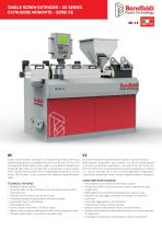 SINGLE SCREW EXTRUDER - OE SERIES