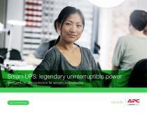 Smart-UPS: legendary uninterruptible power