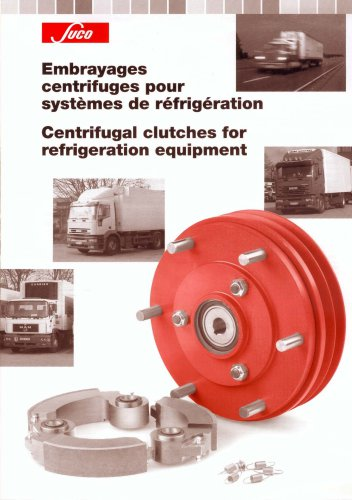 Centrifugal cluces for refrigeration equipement