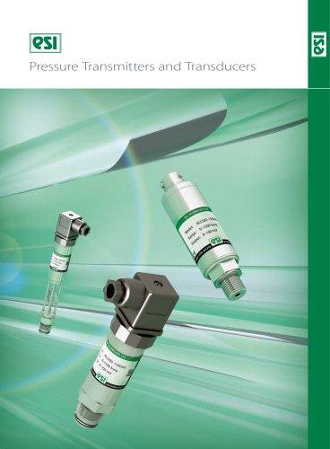 ESI - Transmetteurs et transducteurs de pression