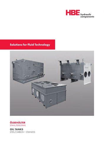 HBE - Réservoirs acier et inox