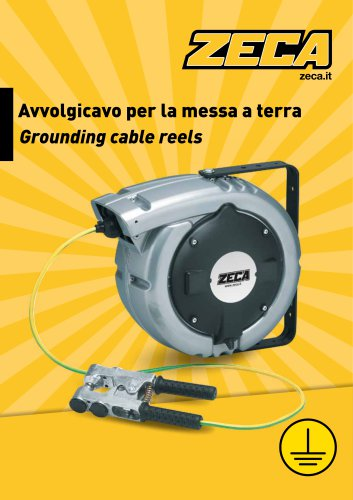 Grounding cable reels