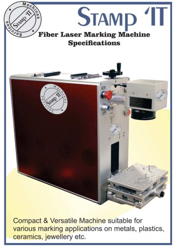 Fiber Laser Marking Machine Specifications