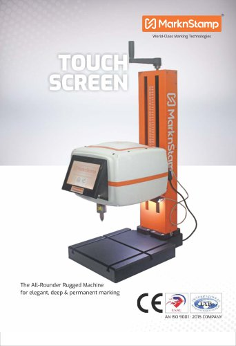 Touch Screen Machines