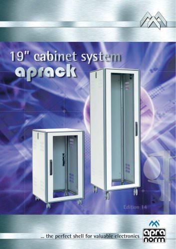 """19""""-cabinet system aprack"""